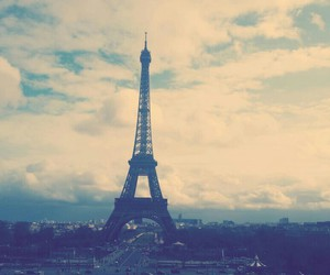beautiful, city, and eiffel tower image