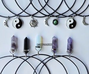 accessories, grunge, and crystal image