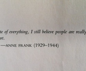 quote, anne frank, and believe image