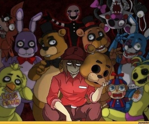 fnaf, Bonnie, and Chica image