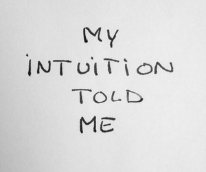 quote, intuition, and text image