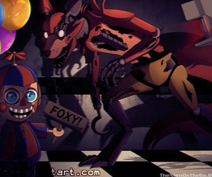 foxy and five nights at freddy's image