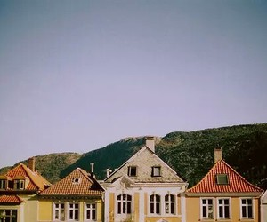 Houses, photography, and vintage image