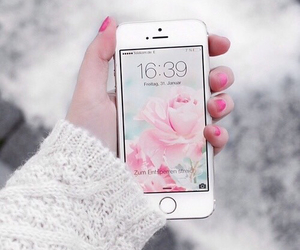 calm, girly, and flower image