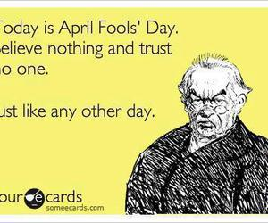 april, april fools, and day image