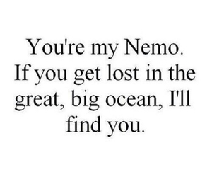nemo, quotes, and ocean image