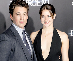 Shailene Woodley, miles teller, and peter image