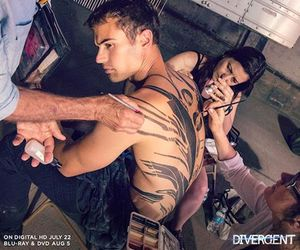 four, Hot, and theo james image