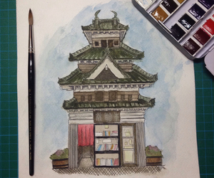 architecture, art, and asian image