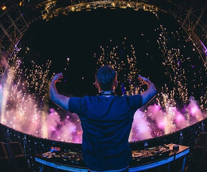 calvin harris, concert, and cool image