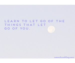 moon, quote, and typography image