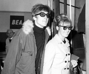 60's, the beatles, and couple image
