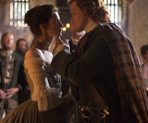 outlander, claire fraser, and claire randall image