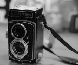 camera, film, and twin image