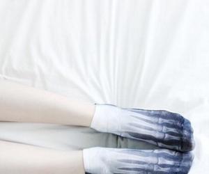 socks, bones, and grunge image