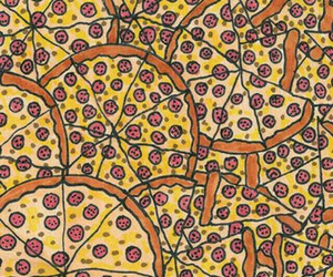 eat, pizza, and food image