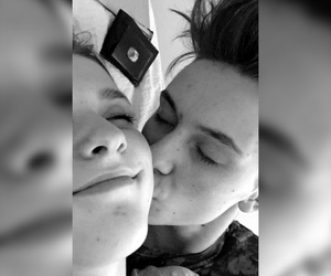 kiss, cute, and couple goals image