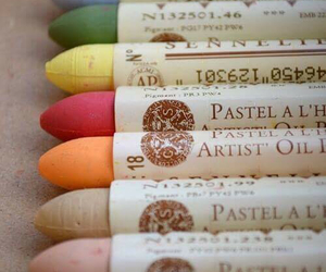 art, pastel, and colors image