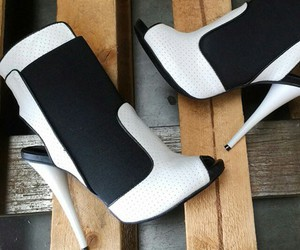 boots, designer, and footwear image