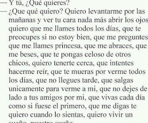love, frases, and quiero image