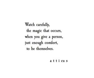 quotes, atticus, and magic image