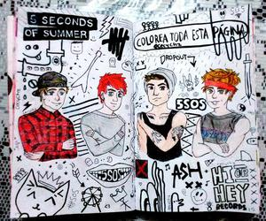 wreck this journal and 5sos image