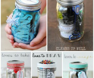diy, gifts, and jar image