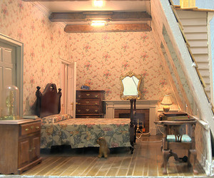 doll house and doll mansion image