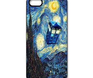 doctor who, iphone, and phone case image