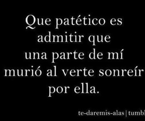 frases, love, and patetico image