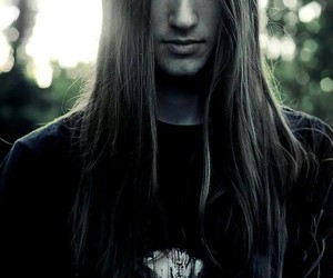 long hair and metalhead image
