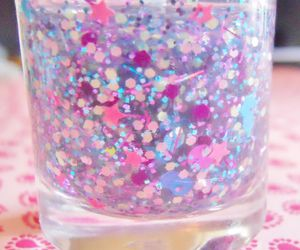 kawaii, girly, and glitter image