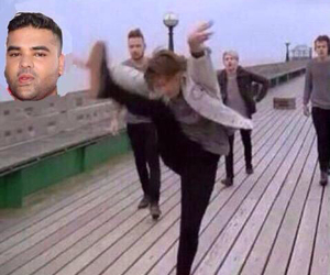 one direction, louis, and naughty boy image
