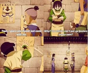 avatar, toph, and funny image