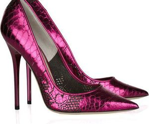 high heels, pink heels, and pink stiletto image