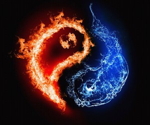 water and fire image