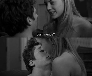 just friends couple image