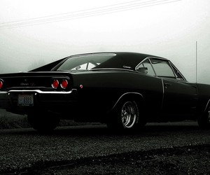 car, american, and dodge charger image
