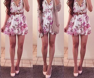 fashion, dress, and girly image