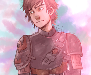 hiccup and how to train your dragon image