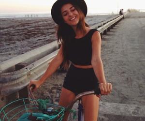 bike, girl, and summer image