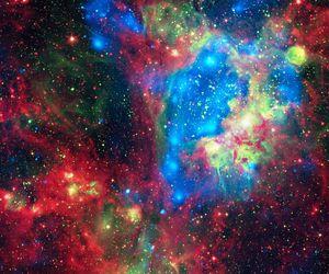 galaxy, space, and nebula image