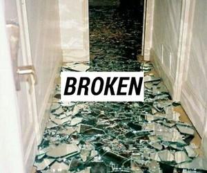broken, grunge, and hate image
