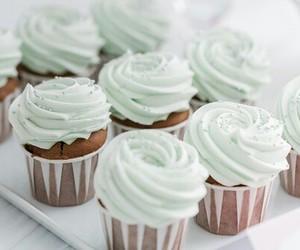 cupcake, food, and dessert image