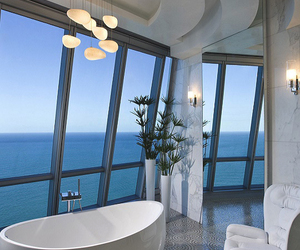 bathroom, interior, and luxury image
