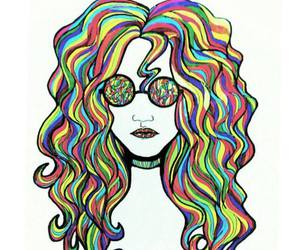 70's, art, and colourful image