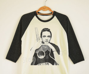 country, Johnny Cash, and music image