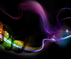 abstract, colors, and music image