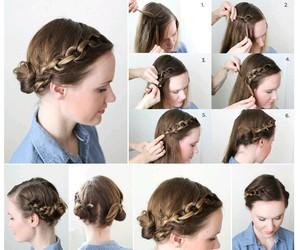 braid, hair, and tutorial image
