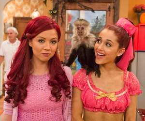 jennette mccurdy, ariana grande, and sam and cat image